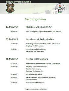 Festprogramm